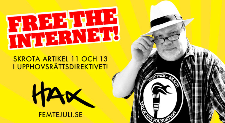 HAX: FREE THE INTERNET!