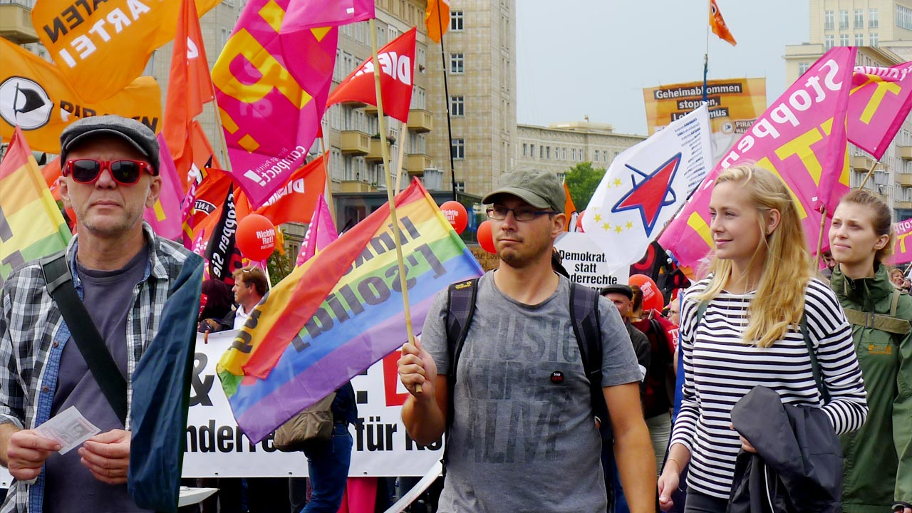 5 juli-podden 18: Cetademonstration i Berlin, september 2016